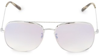 Oliver Peoples Taron 58MM Pilot Sunglasses
