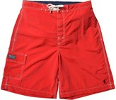 Polo Ralph Lauren Men's Core Kailua Swim Trunks Shorts-Red-XL