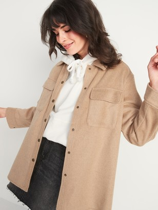 Old Navy Soft-Brushed Utility Shirt Jacket for Women