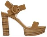 Via Spiga Ira Suede Platform Sandals