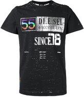 Diesel distressed printed T-shirt