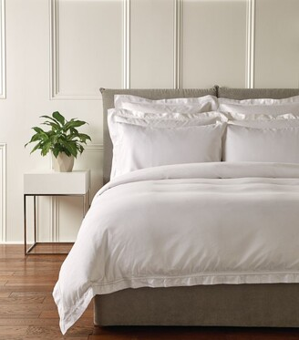 Harrods Silk Cotton Double Fitted Sheet (135cm x 190cm)