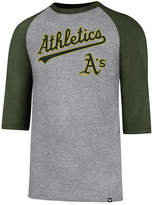 '47 Men's Oakland Athletics Pregame Raglan T-shirt