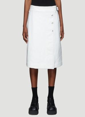 Marni Button-Up Midi Skirt
