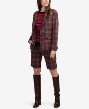 Trina Turk Plaid Perfection Jacket