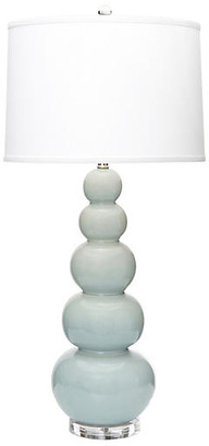 Trousdale Table Lamp - Pale Blue - BURKE & OATES