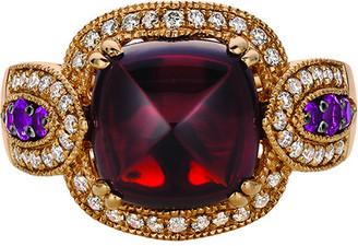 LeVian Le Vian 14K Rose Gold 6.06 Ct. Tw. Diamond & Gemstone Ring