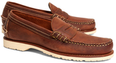 Brooks Brothers Red Wing Copper Mini Lug Penny Loafers