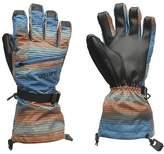 Burton Ski Gloves Juniors Boys Waterproof Breathable Printed Winter Sports
