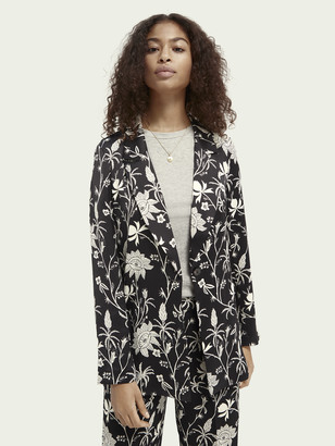 Scotch & Soda Printed pyjama blazer | Women