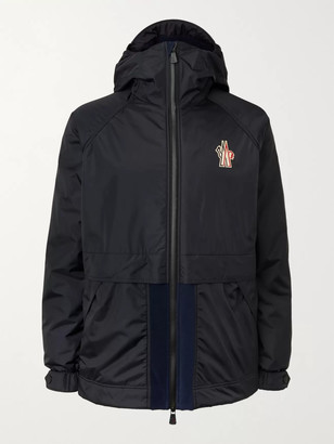 MONCLER GRENOBLE Logo-Appliqued Panelled Polartec Fleece-Trimmed Ski Jacket