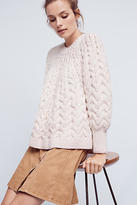 Demy Lee Hand-Knit Wool Pullover