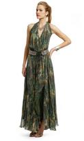 Haute Hippie Queen of the Jungle Gown