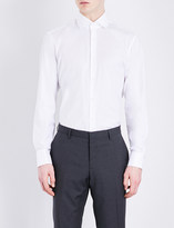 HUGO BOSS Regular-fit pure cotton shirt
