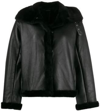 YMC oversized shearling jacket