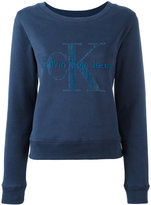 Calvin Klein 'Hadley True Icon' sweatshirt - women - Cotton - L