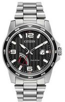 Citizen Eco-Drive Men's PRT Power Reserve Stainless Steel Watch - AW7030-57E