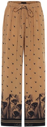 Undercover Printed drawstring pants