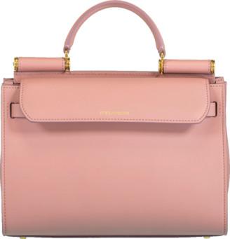 Dolce & Gabbana Rosa Sicily Top Handle Bag