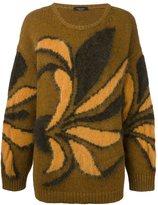 Roberto Collina floral print jumper
