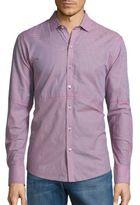 Zachary Prell Julian Woven Button-Down Shirt