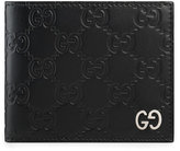 Gucci Signature wallet - men - Leather/metal - One Size