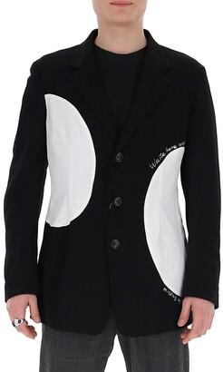 Yohji Yamamoto Patch Detail Blazer