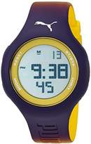Puma Unisex PU910801038 Loop Digital Display Analog Quartz Purple Watch