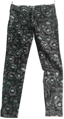 Kenzo Anthracite Cotton Jeans for Women