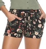 Mudd Juniors' Peached Tie Waist Shorts