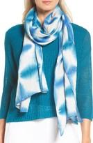 Eileen Fisher Women's Shibori Linen Scarf