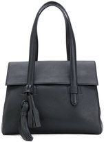 Max Mara fold over tote bag - women - Leather - One Size