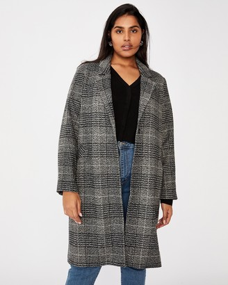 Cotton On Curve Curve Marty Mid-Length Coat
