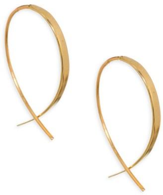 Lana Girl Mini Upside Down Threader Earrings