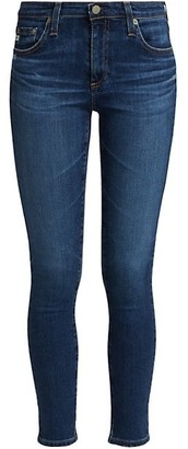 AG Jeans Mid-Rise Legging Ankle Jeans