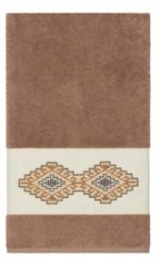 Linum Home Gianna Embroidered Turkish Cotton Bath Towel Bedding