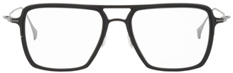 Yohji Yamamoto Black Square Aviator Glasses