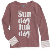 C&C California Sunday Funday Thermal Tee (Big Girls)