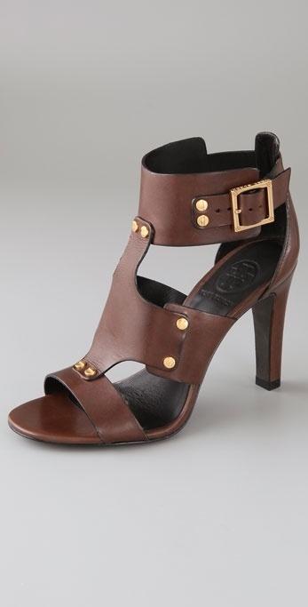 Tory Burch Teagan High Heel Gladiator Sandals