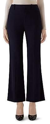 Gucci Women's Crepe Wool & Silk Flare Pants