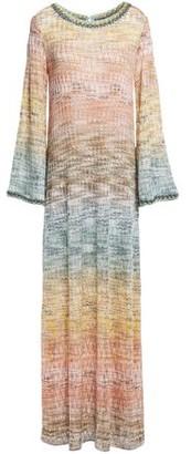 Missoni Degrade Metallic Crochet-knit Maxi Dress