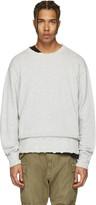 R 13 Grey Vintage Sweatshirt