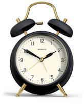 Newgate Brass Knocker Alarm Clock - Petrol Blue