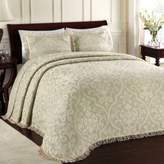 Bed Bath & Beyond Lamont HomeTM All Over Brocade Standard Pillow Sham in Sage