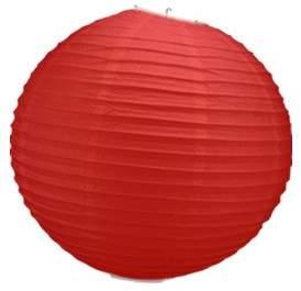 Camilla And Marc Skylantern Original 1453 Paper Ball Lantern Red 30 cm