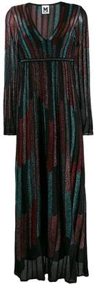 M Missoni striped flared dress