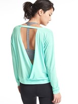 Gap GapFit Breathe cutout long sleeve tee