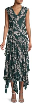 BCBGMAXAZRIA Floral Cocktail Dress