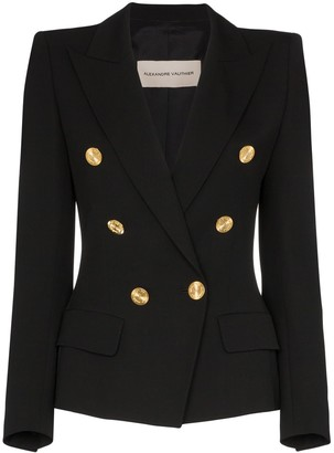 Alexandre Vauthier Double-Breasted Blazer Jacket