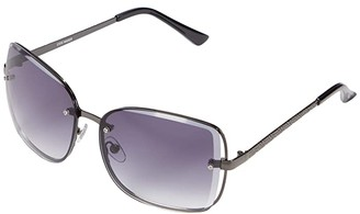 Steve Madden Lyla (Gunmetal) Fashion Sunglasses